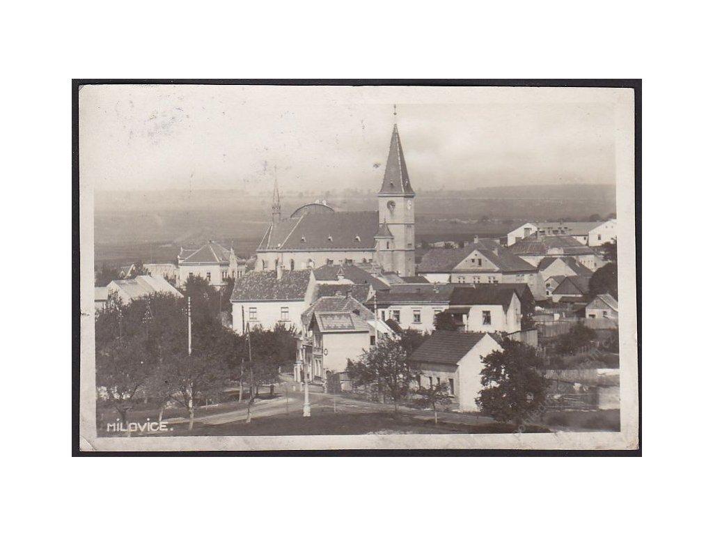 40 - Nymbursko, Milovice, cca 1935