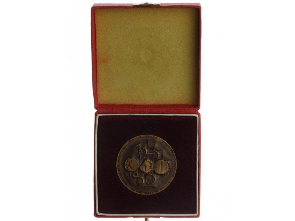 ČSSR, AE medaile Kovoprojekta Praha ,1970, 50 mm, etue, stav 1