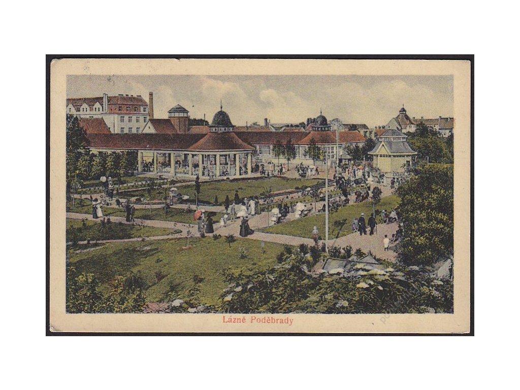 40 - Nymbursko, lázně Poděbrady, cca 1923