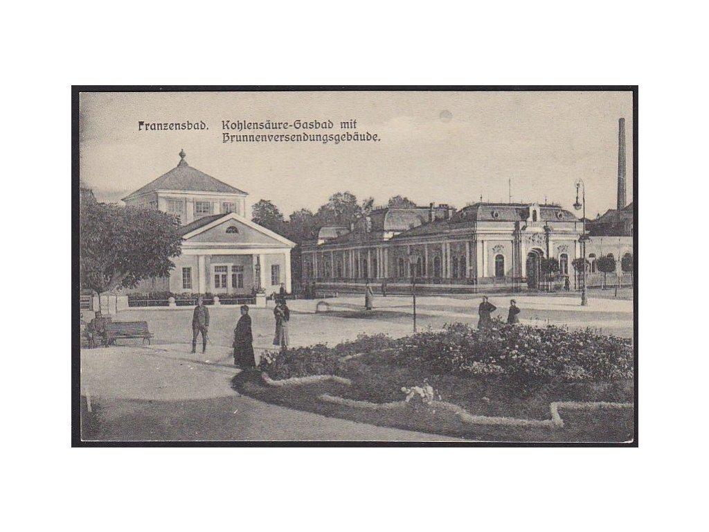 08 - Chebsko, Františkovy lázně (Franzensbad), uhličité koupele, cca 1925