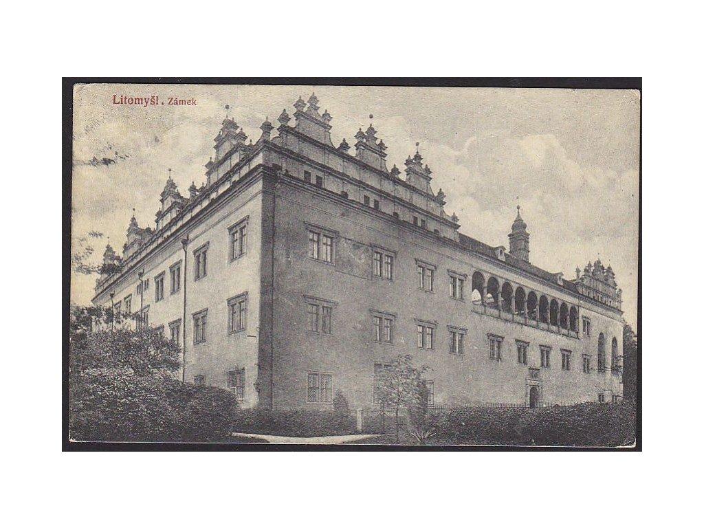 61 - Svitavsko, Litomyšl, zámek, cca 1916