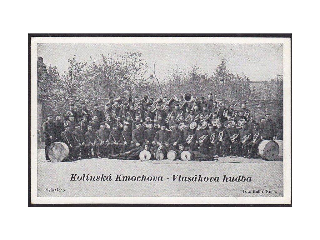 29 - Kolínsko, Kolínská Kmochova-Vlasákova hudba, cca 1925