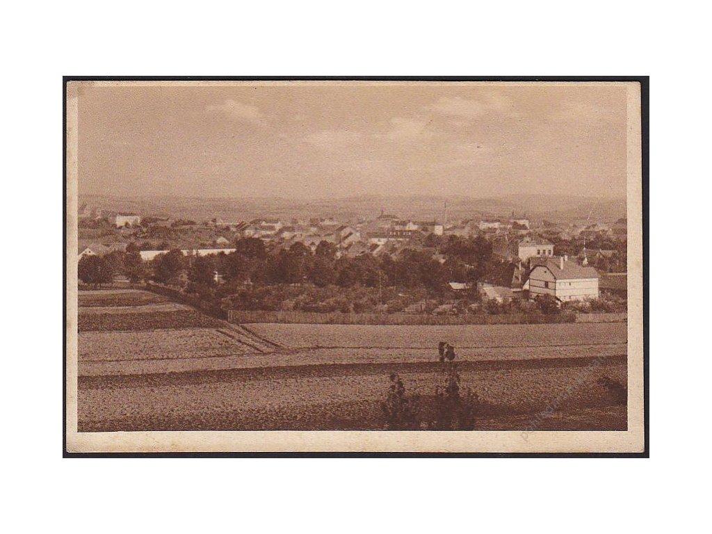 01 - Benešov, celkový pohled, nakl. Sedlák, cca 1925