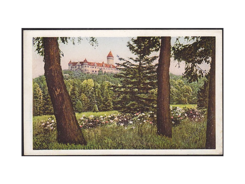 01 - Benešovsko, zámek Konopiště, cca 1920