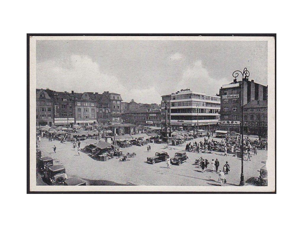 43 - Ostrava (Ostrau), Hlavní náměstí (Hauptplatz), cca 1935