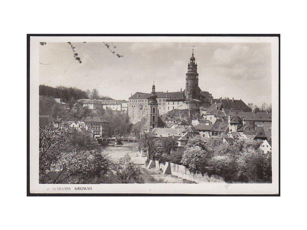 13 - Český Krumlov, zámek, (Schloss Krumau), foto Fon, cca 1925