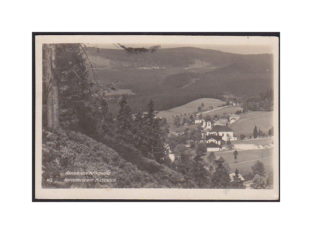 66 - Trutnovsko, Krkonoše (Riesengebirge), Harrachov (Harrachsdorf), cca 1929