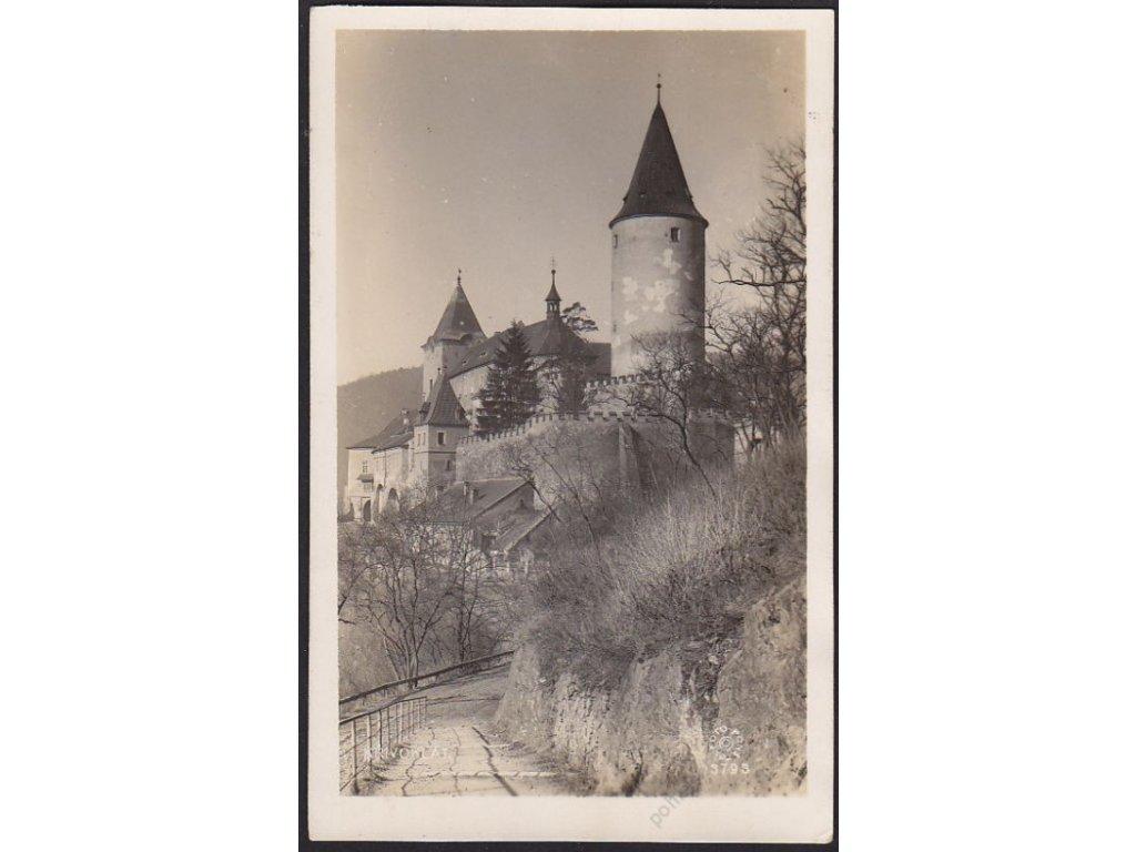 55 - Rakovnicko, hrad Křivoklát, foto Fon, cca 1935