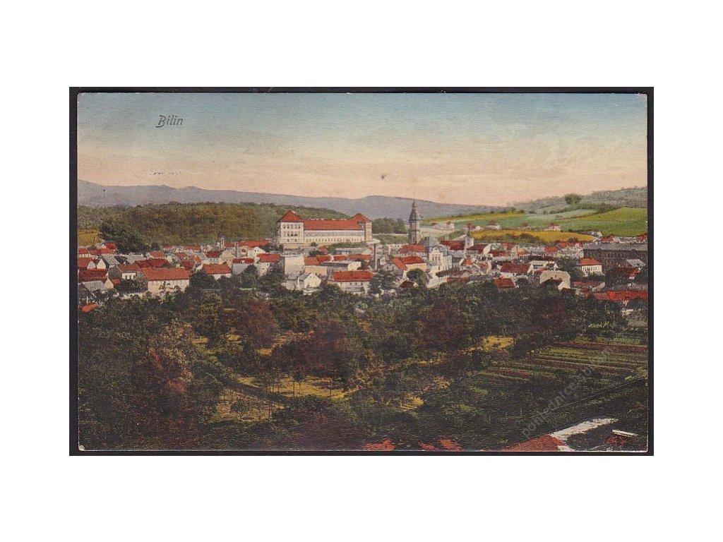 65 - Teplicko, Bílina (Bilin), nakl. Trinks & Co., G.m. b. h., cca 1912