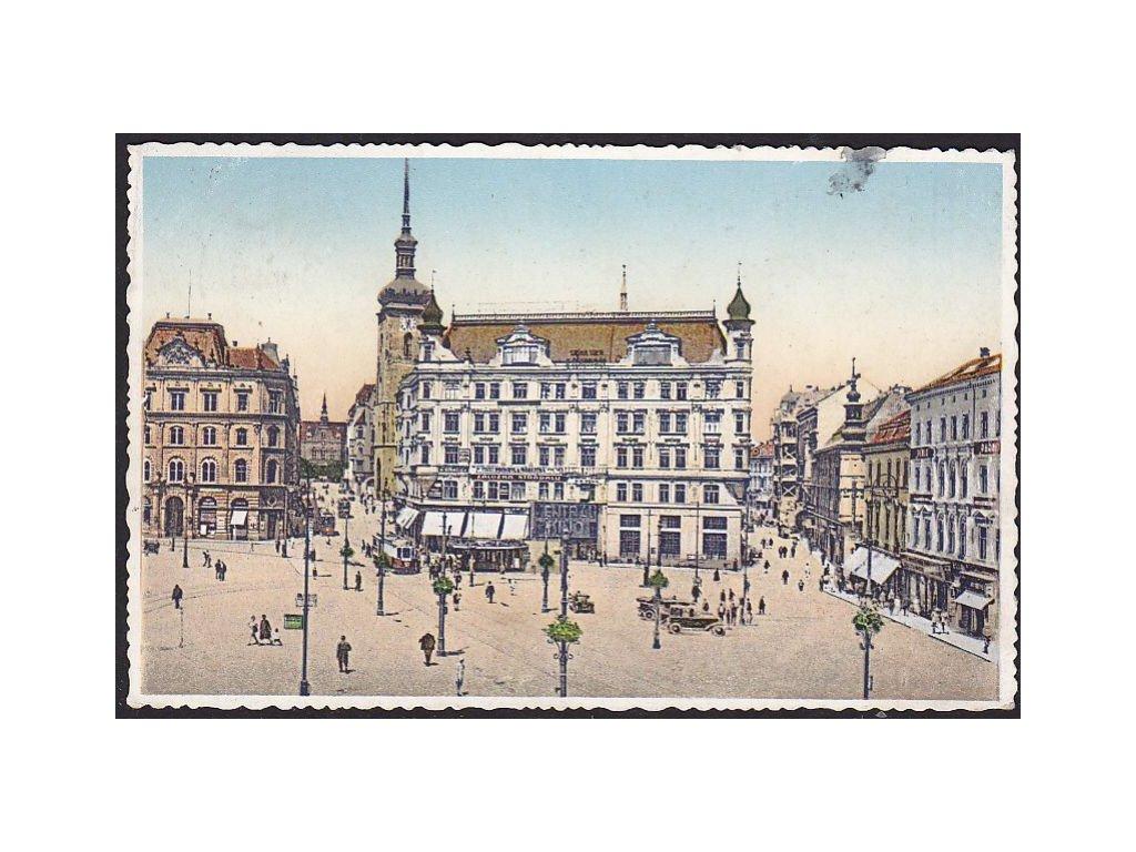 04 - Brno-město (Brünn), náměstí Svobody (freiheitsplatz), cca 1929