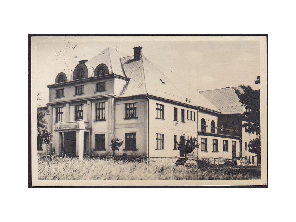 20 - Jablonecko, Zásada, sokolovna, grafo Čuda, cca 1935