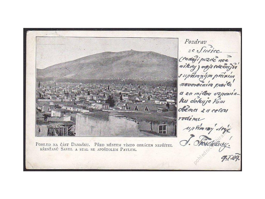 28 - Šumava, Sušice, pozdrav, cca 1900