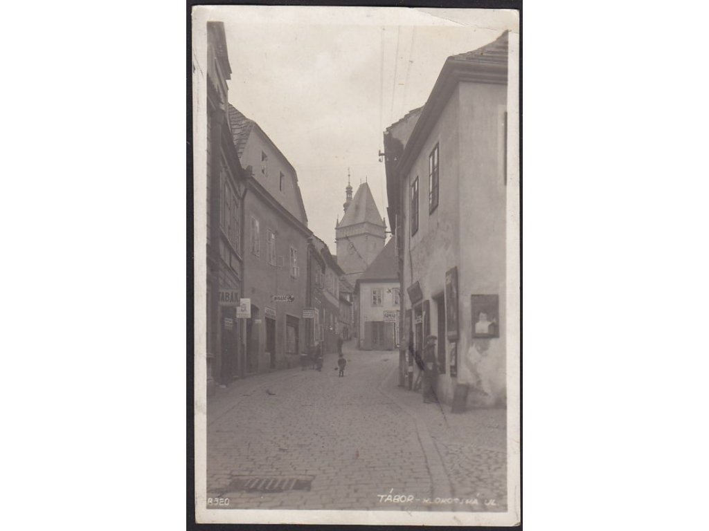 64 - Tábor, Klokotská ulice, cca 1935