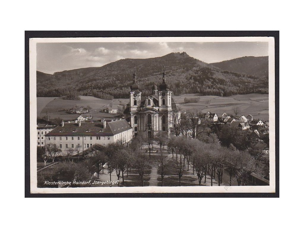 32 - Liberecko, Jizerské hory, Hejnice, (Isergebirge, Haindorf), foto Augstern, cca 1940