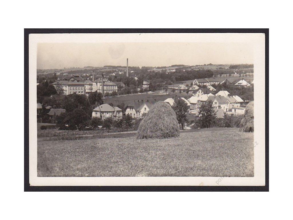 22 - Jičínsko, Hořice v Podkrkonoší, cca 1946
