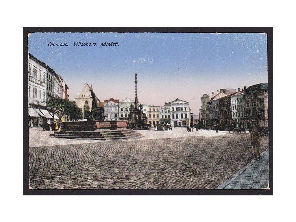 41 - Olomouc, Wilsonovo náměstí, nakl. E.Š.O., cca 1910