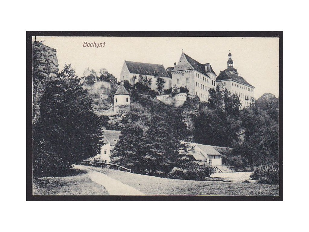 64 - Táborsko, Bechyně, nakl. Jan Zeis, cca 1920