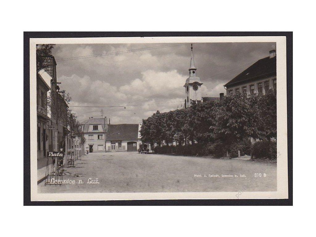 24 - Jindřichohradecko, Lomnice nad Lužnicí, nakl. J. Spěvák, foto Fon, cca 1930