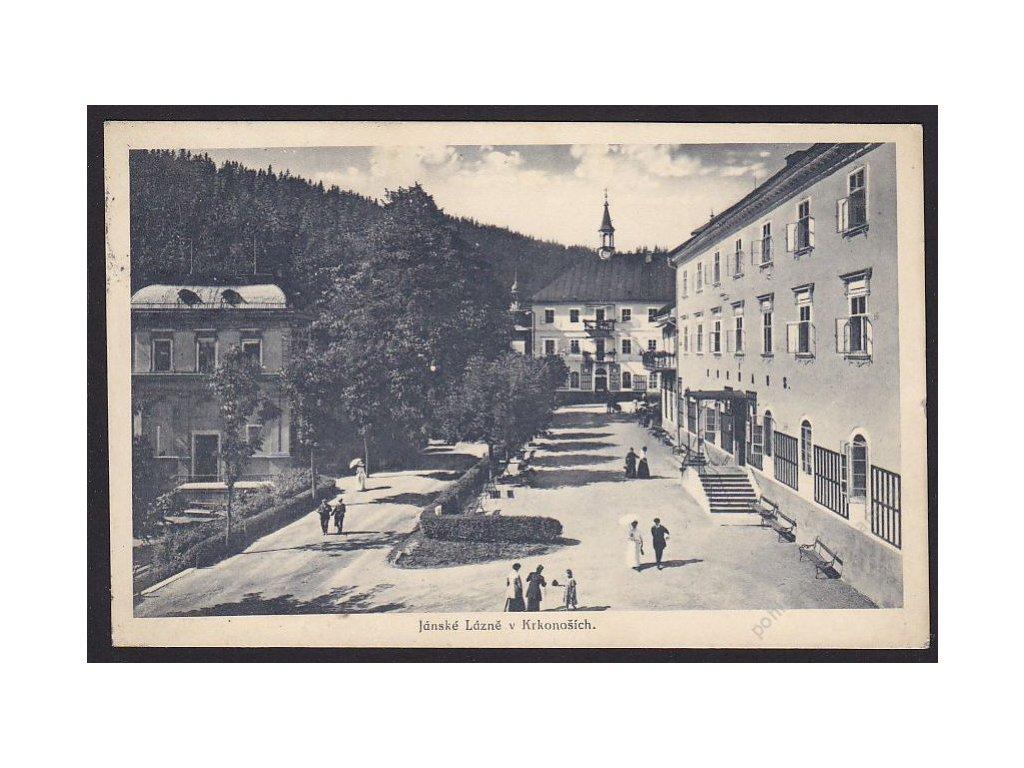 66 - Trutnovsko, Janské Lázně v Krkonoších, foto Hamann a Lehmann, cca 1924
