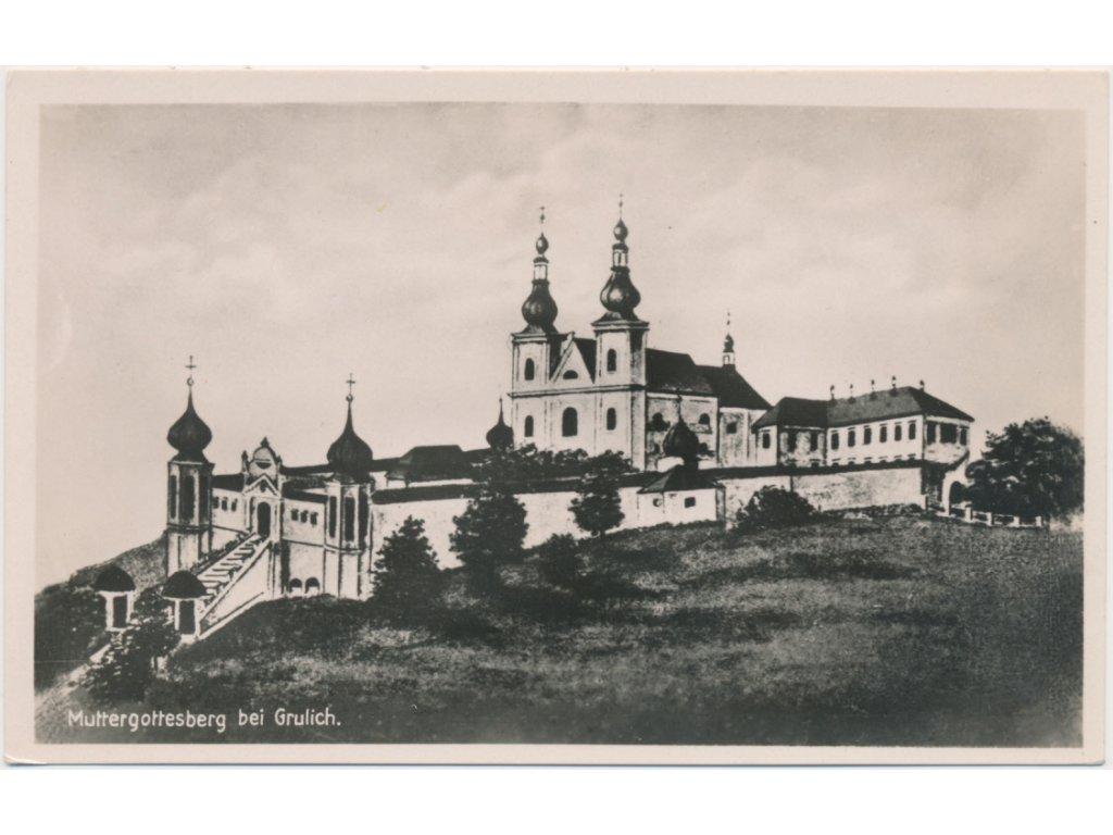 70 - Orlickoústecko, Žamberk, pohled na zámek, nákl. F. Hauffe