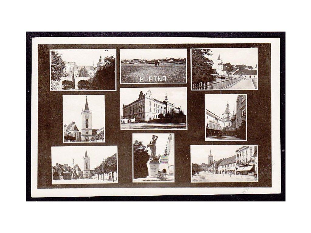 60 - Strakonicko, Blatná, nakl. Rampa, cca 1930