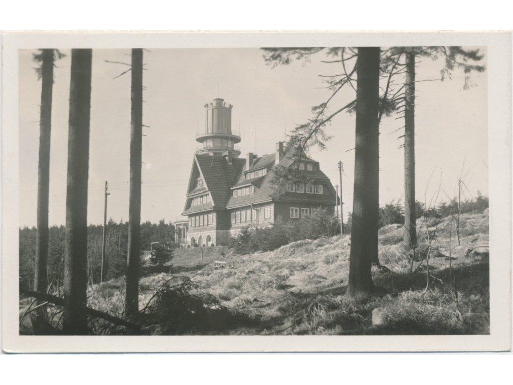 70 - Orlickoústecko, Suchý Vrch, partie u Kramářovy chaty, cca 1937