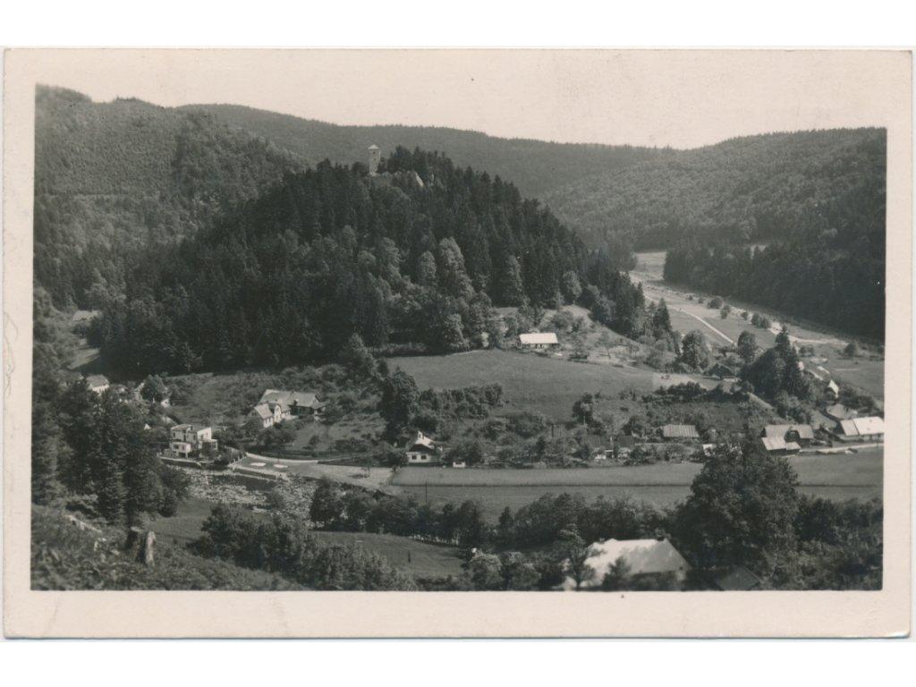 70 - Orlickoústecko, Litice nad Orlicí, celkový pohled, cca 1943