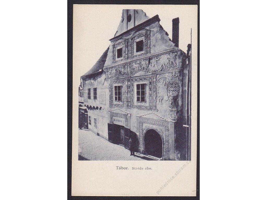 64 - Tábor, Stárkův dům, nakl. Zuna, cca 1931