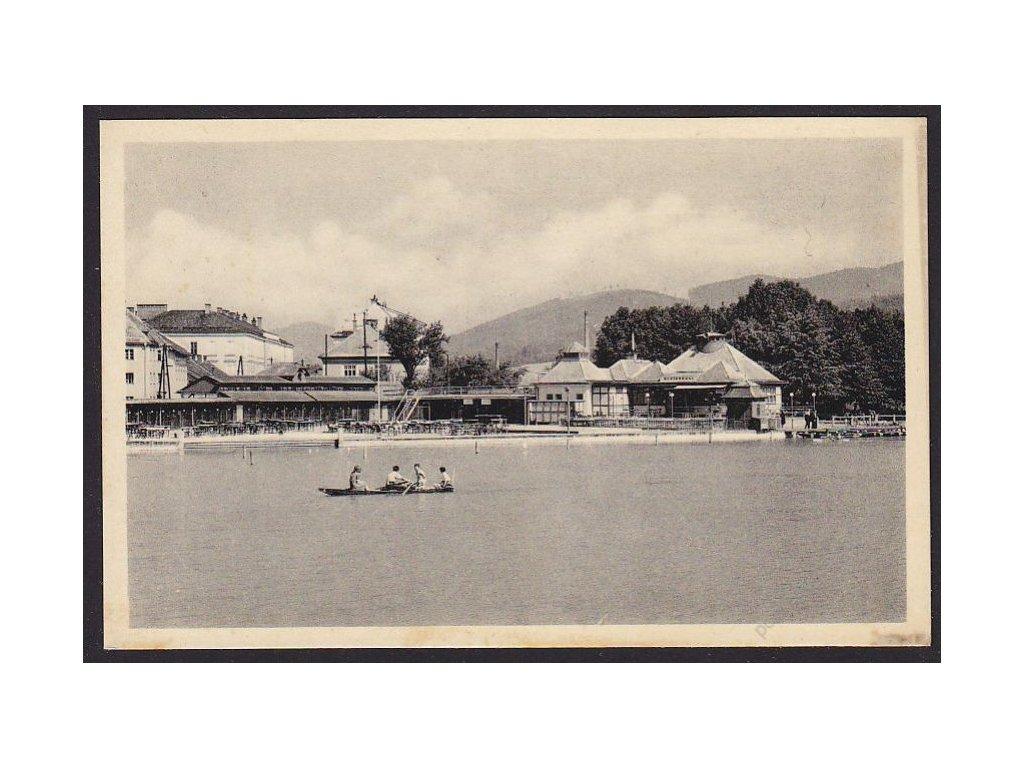 62 - Šumperk, koupaliště, foto Švec, cca 1935