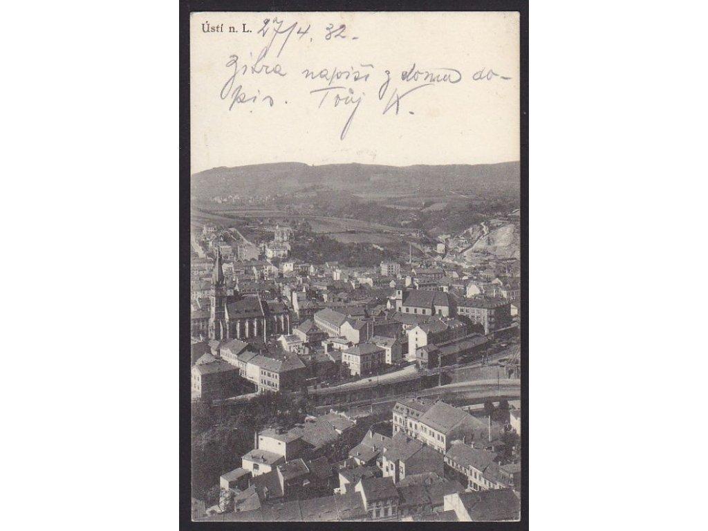 69 - Ústí nad Labem, nakl. Orbis, cca 1935