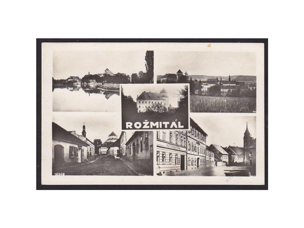 54 - Příbramsko, Rožmitál, cca 1930