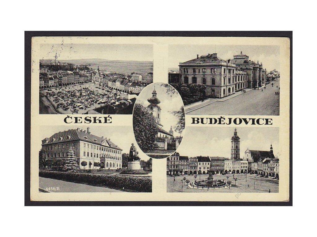 12 - České Budějovice, části města, cca 1937