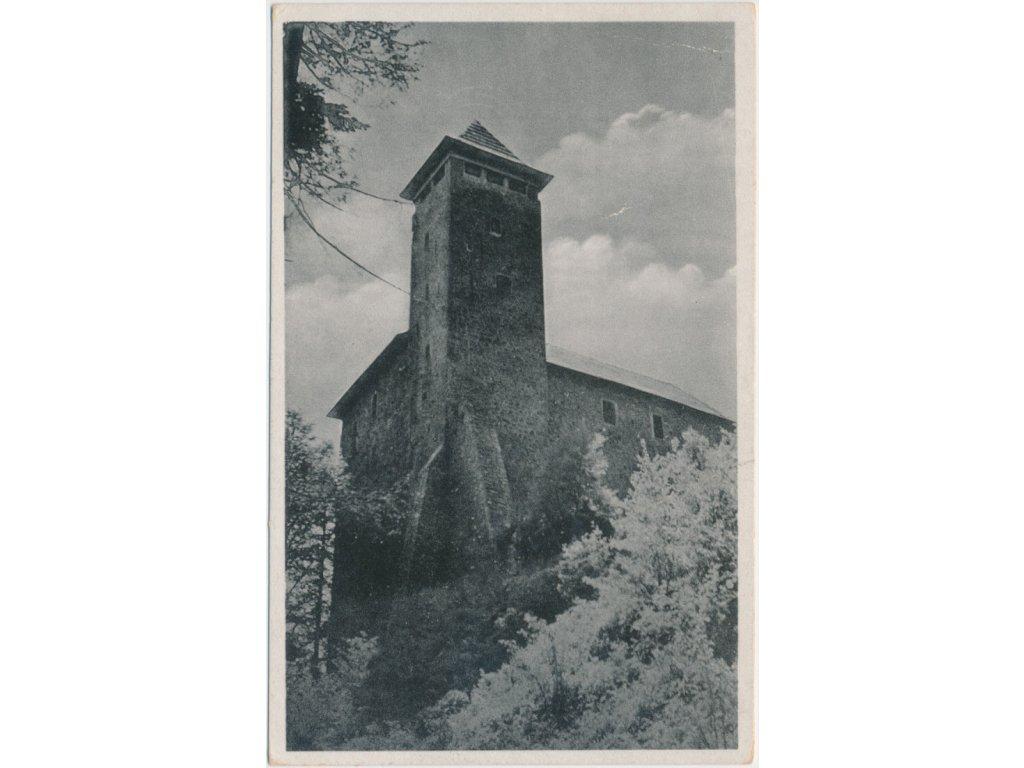 70 - Orlickoústecko, partie před hradem Litice, cca 1944