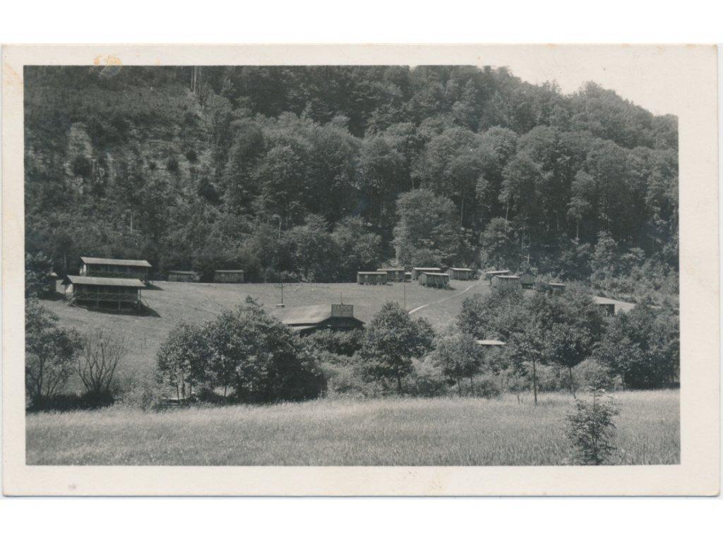 70 - Orlickoústecko, Brandýs nad Orlicí, Řadov, letní tábor, cca 1937