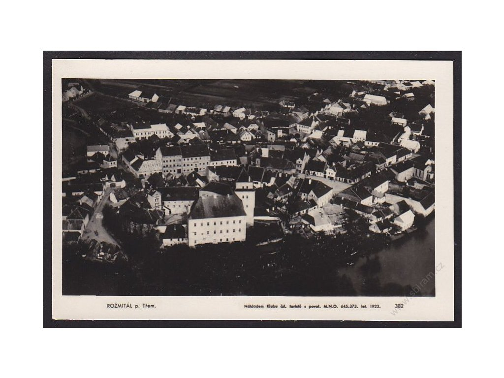 54 - Příbramsko, Rožmitál pod Tremšínem, cca 1925