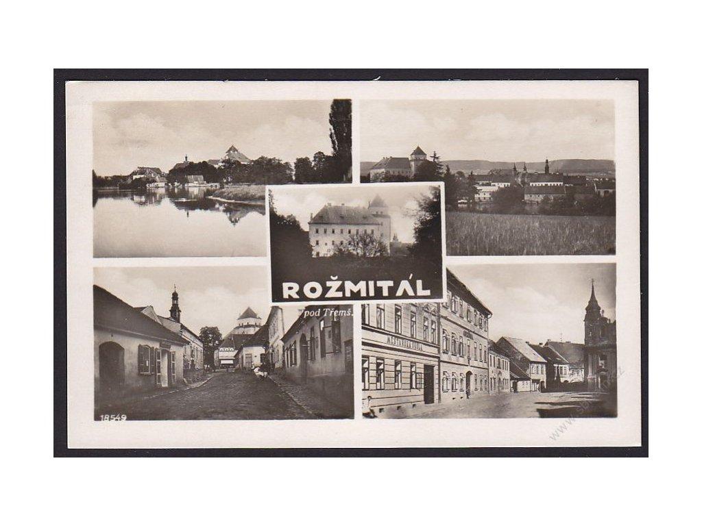 54 - Příbramsko, Rožmitál pod Tremšínem, cca 1930