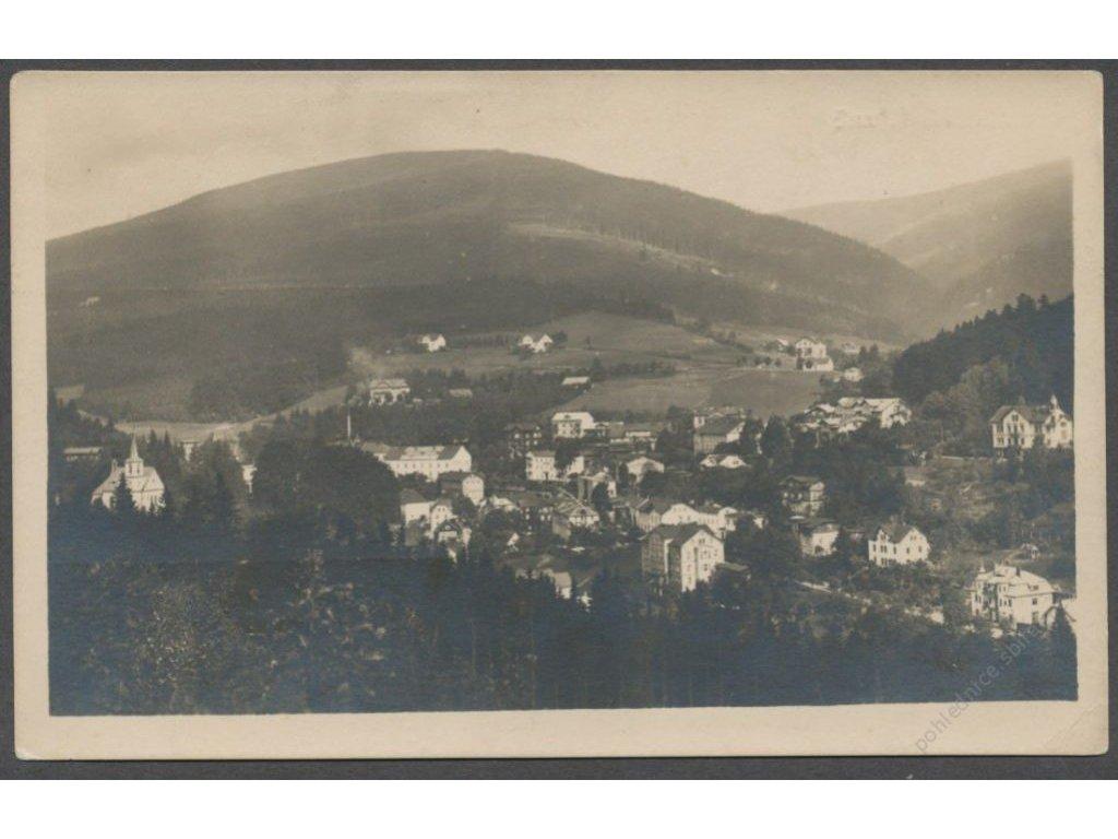 66 - Trutnovsko, Janské Lázně, celkový pohled, Bromografia Holice, cca 1926