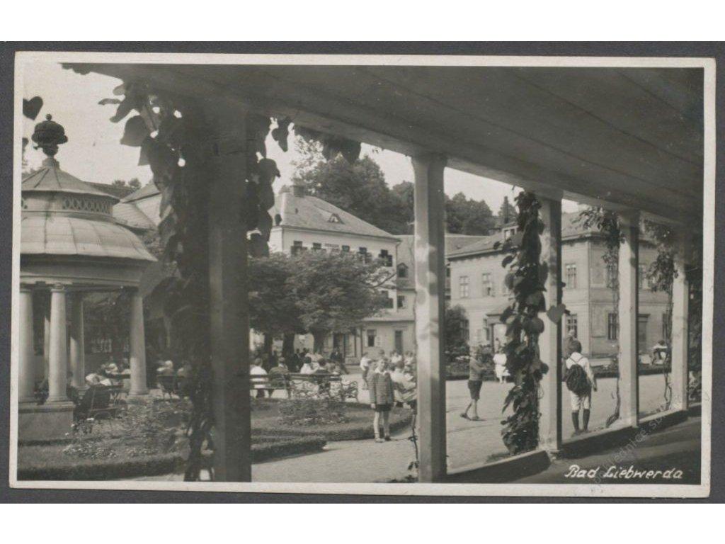 32 - Liberecko, Bad Libverda (Bad Liebwerda), foto Krause, cca 1930