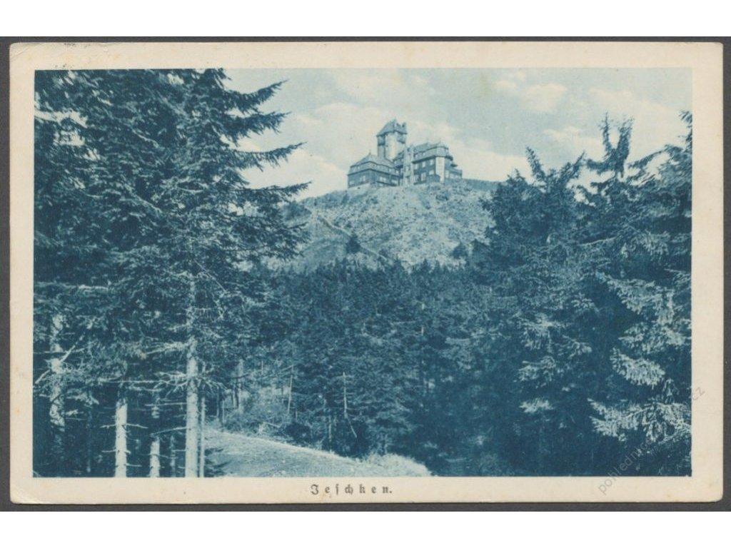 32 - Liberecko, Ještěd (Jeschken), cca 1925