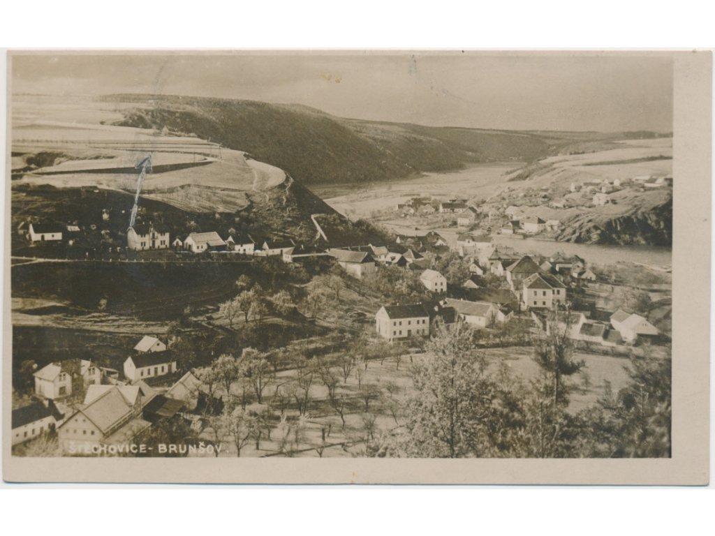 51 - Praha - západ, Štěchovice - Brunšov, celkový pohled, cca 1927