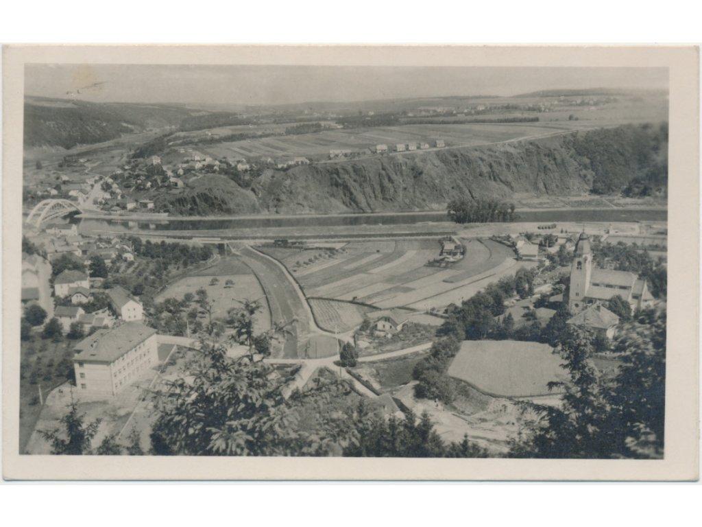 51 - Praha - západ, Štěchovice, celkový pohled, cca 1937