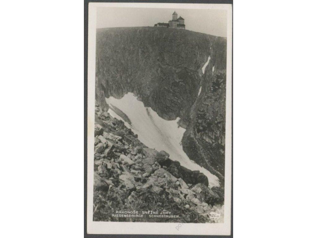 Poland, Giant Mountains, Śnieżne Kotły (Schneegruben), foto Fon, cca 1928