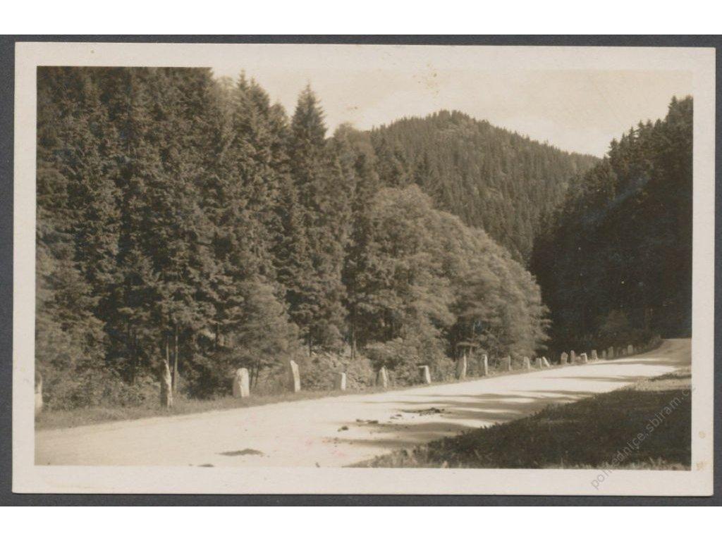 66 - Trutnovsko, Krkonoše, Velká Úpa (Gross Aupa, Riesengebirge), nakl. Bönseh, cca 1929