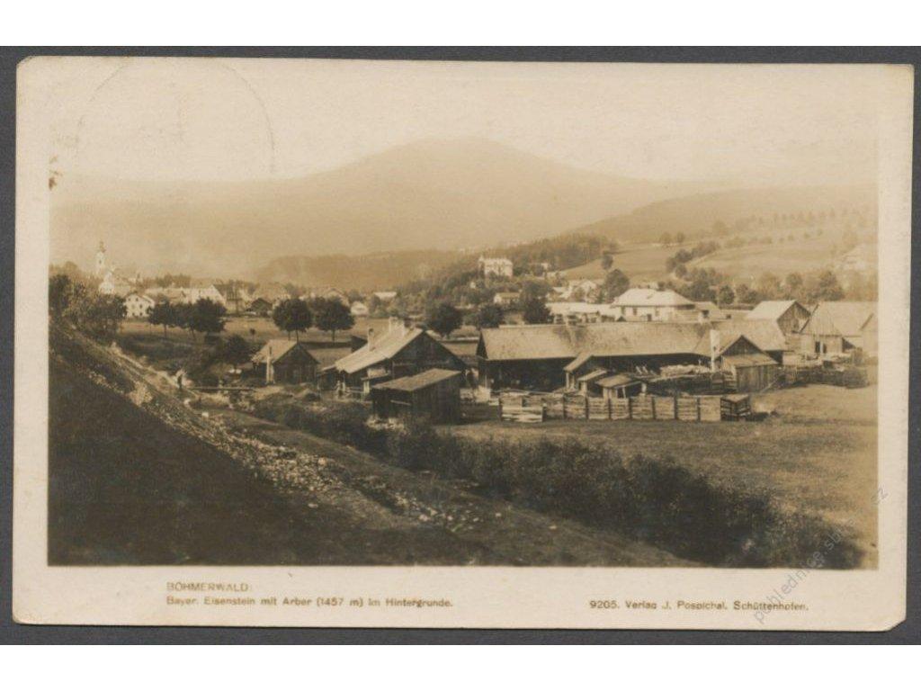 Germany, Niederbayern, Regen, Bayerisch Eisenstein, foto Fon, cca 1930