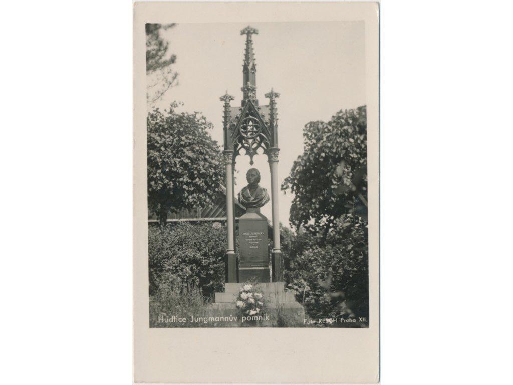 02 - Berounsko, Hudlice, Jungmanův pomník, foto Resch