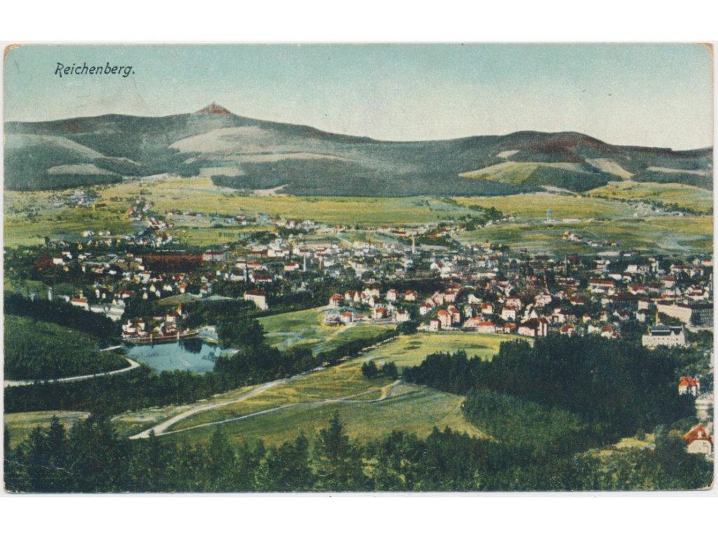 32 - Liberec, celkový pohled na město, cca 1922