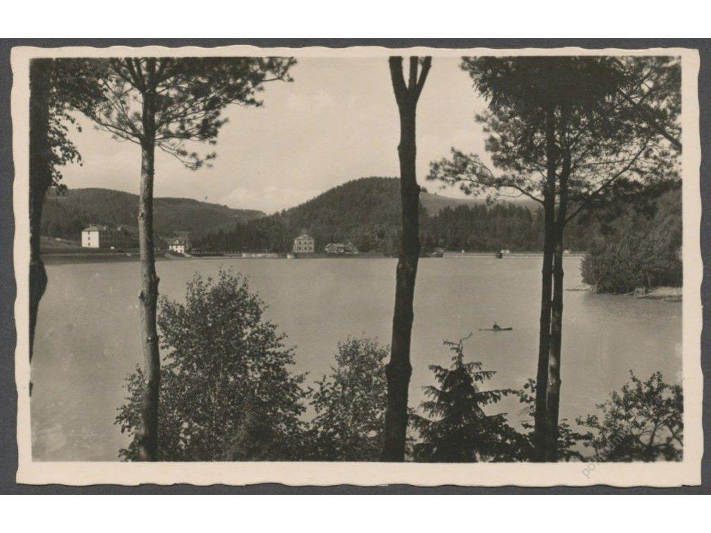 71 - Vsetínsko, Beskydy, letovisko Bystřička (Klein-Bistritz), foto Bittner, cca 1938