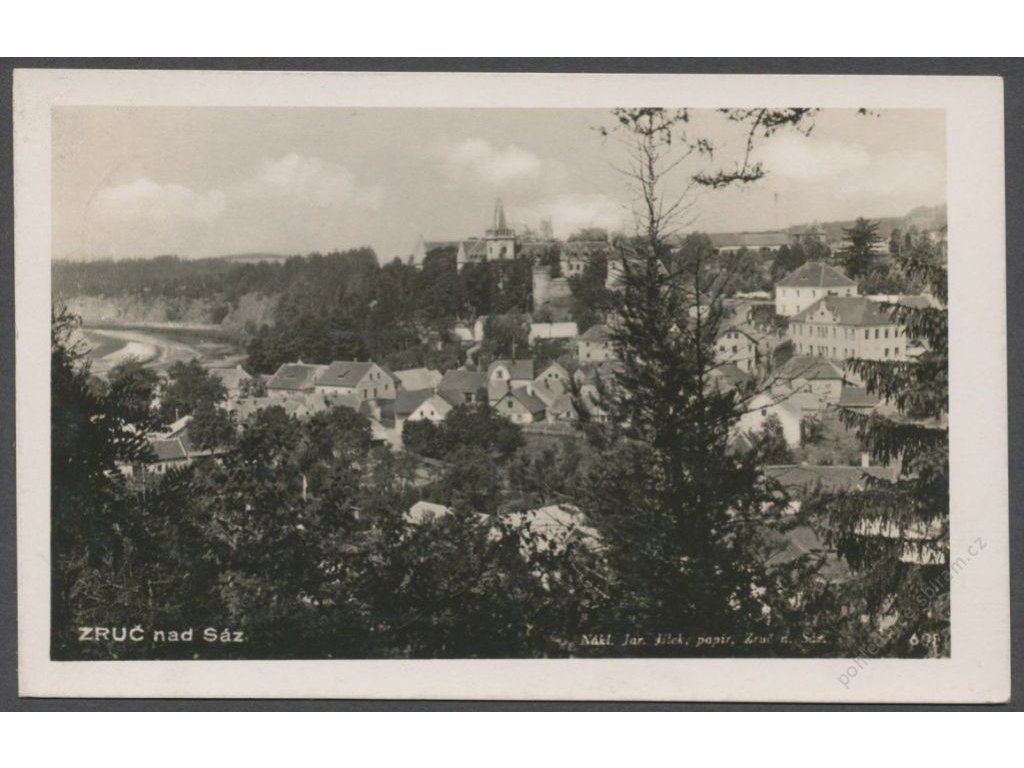31 - Kutnohorsko, Zruč nad Sázavou, nakl. Jílek, foto Fon, cca 1940