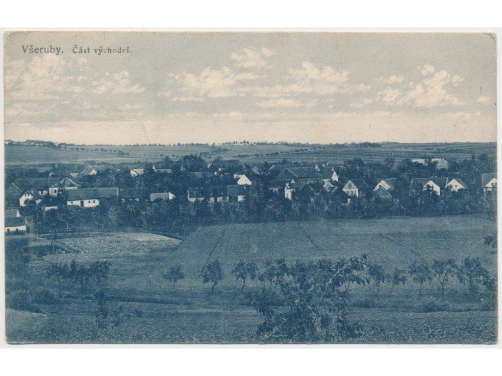 47 - Plzeňsko, Všeruby, pohled na východní část města, cca 1931