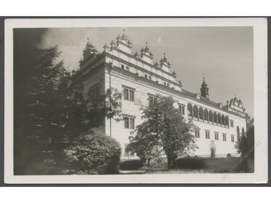 61 - Svitavsko, Litomyšl, zámek, nakl. Veselík, cca 1938
